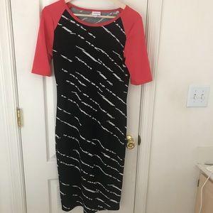 Lularoe Julia Black Pencil Dress Size Small